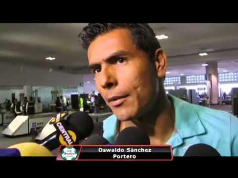 Oswaldo Sánchez, satisfecho con los resultados en la Copa Libertadores