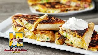 Chicken Quesadilla - Steak Quesadilla  How to make Quesadillas Mexican Food
