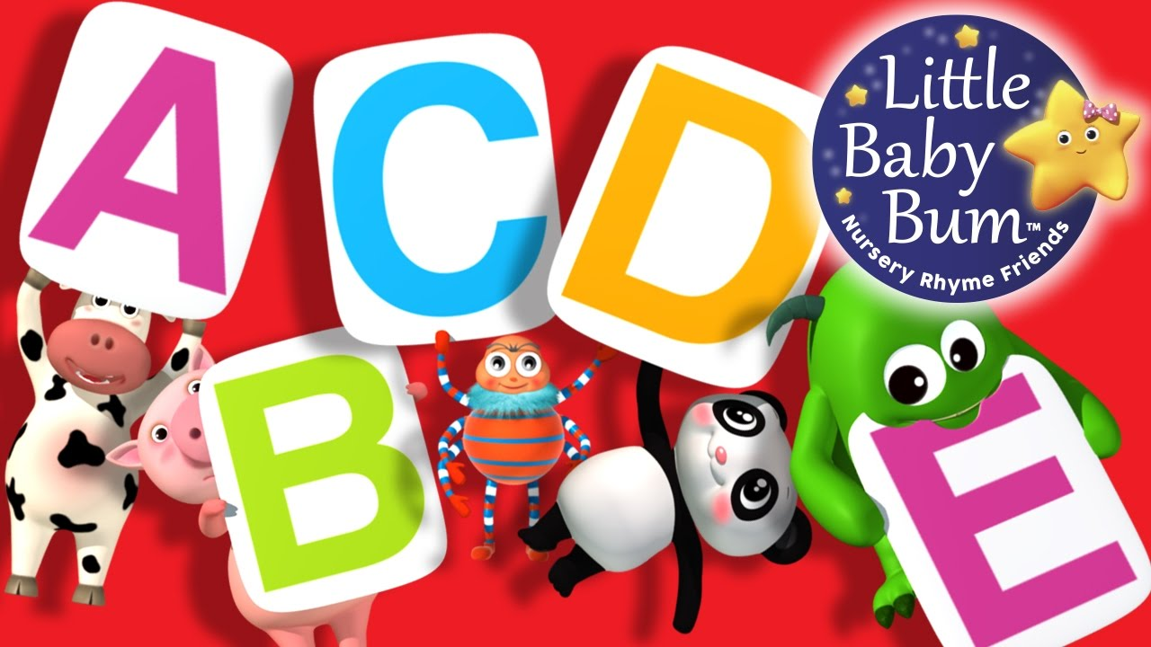 Abc Song Jumping Zed Version Little Baby Bum Nursery