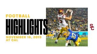 Football: USC 41, Cal 17 - Highlights 11/16/19