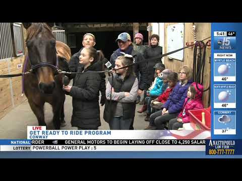 Amanda Live at Get Ready to Ride - WPDE ABC 15