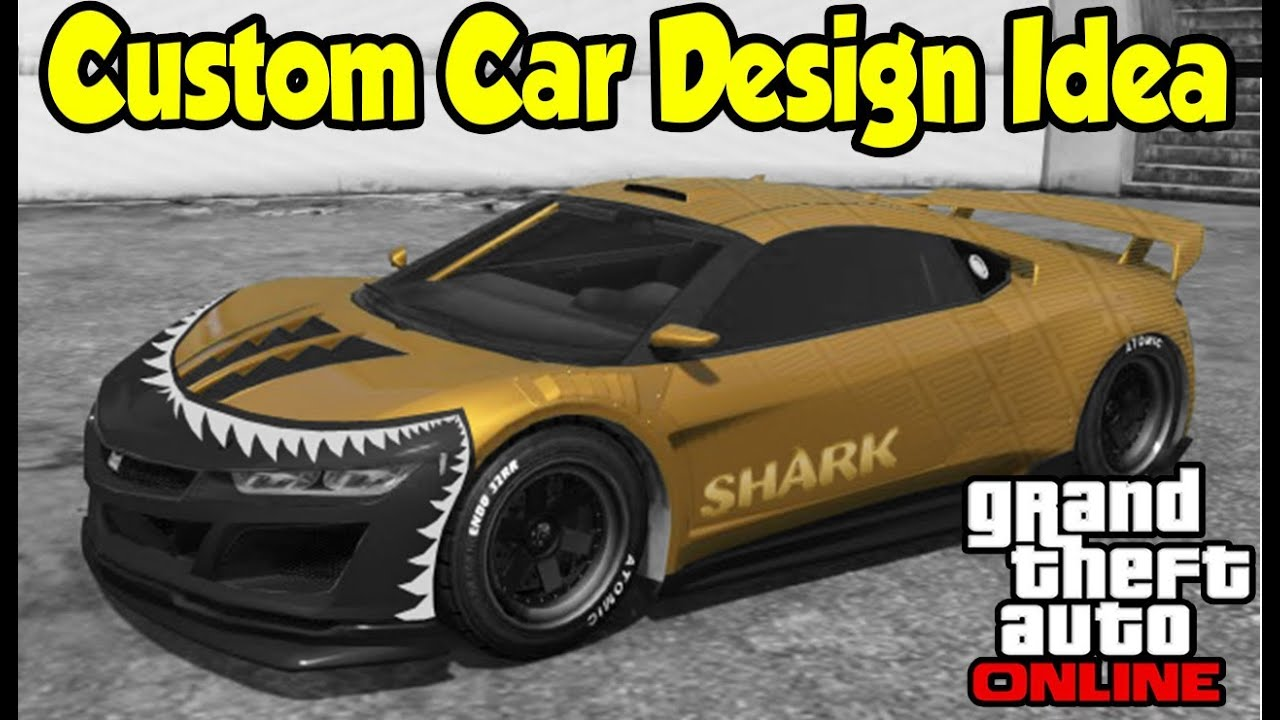 Sticker designs for car - Gta 5 Online Custom Car Design Idea Decals Vinyls Gta V Future Dlc Youtube