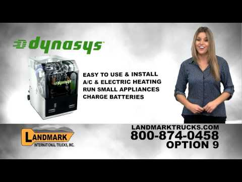 Dynasys Auxiliary Power Unit APU - Landmark International Trucks