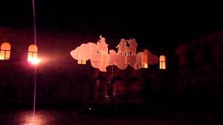 Ombre barocche    -  Installazione Castello Bentivoglio Festival di Musica 2013