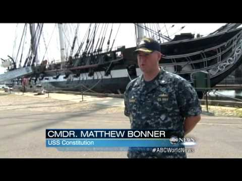 ABC News Old Ironsides USS Constitution Sails Under Its Own Power