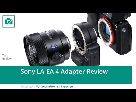 Sony LA-EA 4 Adapter Review