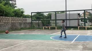 Zian - Basic Basketball shooting practice