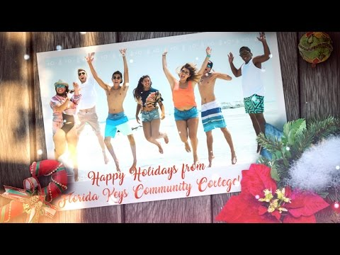 Happy Holidays from Florida Keys Community College - 2016