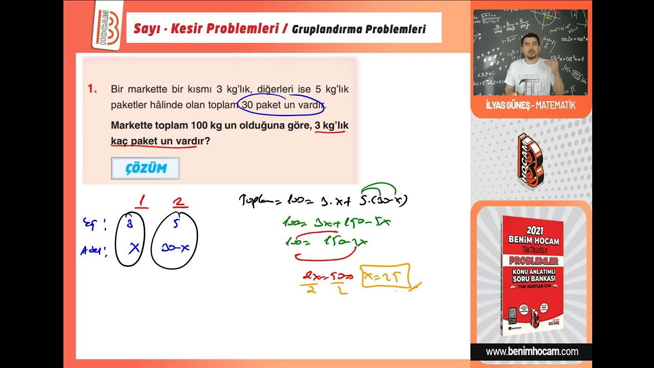 PROBLEMLER KAMPI-1.GÜN---SAYI KESİR PROBLEMLERİ-1