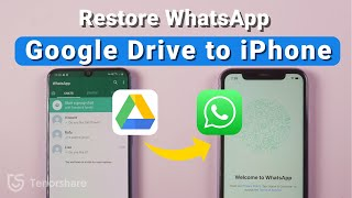 How to Restore WhatsApp backup from Google Drive to iPhone 2021
