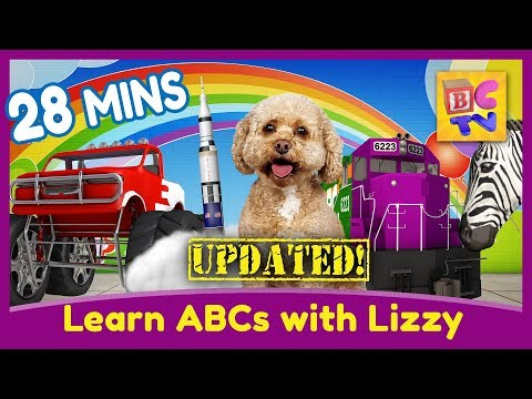 Learn ABCs With Lizzy The Dog | Updated