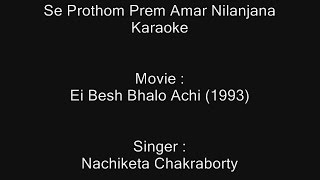 Download Hindi Video Songs - Se Prothom Prem Amar Nilanjana - Karaoke - Nachiketa Chakraborty