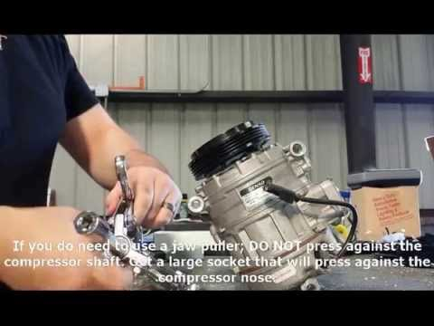 AC Compressor Clutch Bearing replacement - MBWorld org Forums