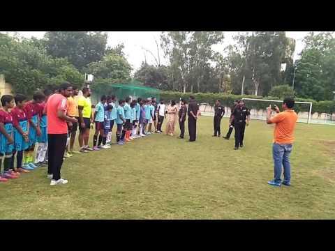 Football Match Opening