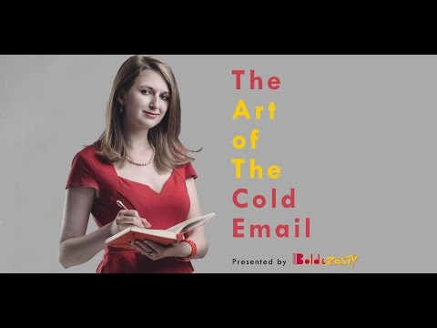 The Art of The Cold Emails: Heather Morgan
