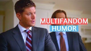 "multifandom humor   ""WHY DID YOU KILL YOUR HUSBAND?"""