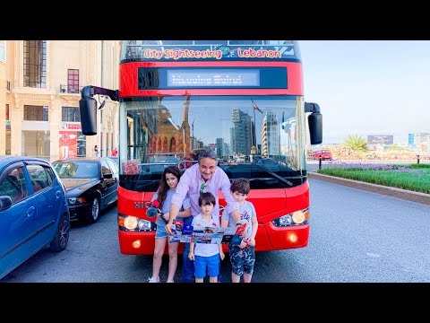 This is Beirut, Discover it for Yourself: City Sightseeing of the Capital - Hop On, Hop Off Tour Bus