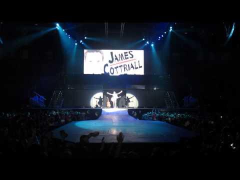 James Cottriall - Dance Dance Dance Live @ Vienna Stadthalle Justin Bieber Believe Tour