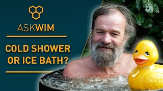 Cold Shower VS  Ce Bath Which One Is Better AskWim