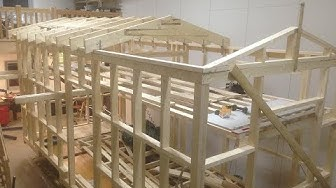 ECO - TINY HOUSE - Made in Finland (Framing: Floor,Walls,Roof