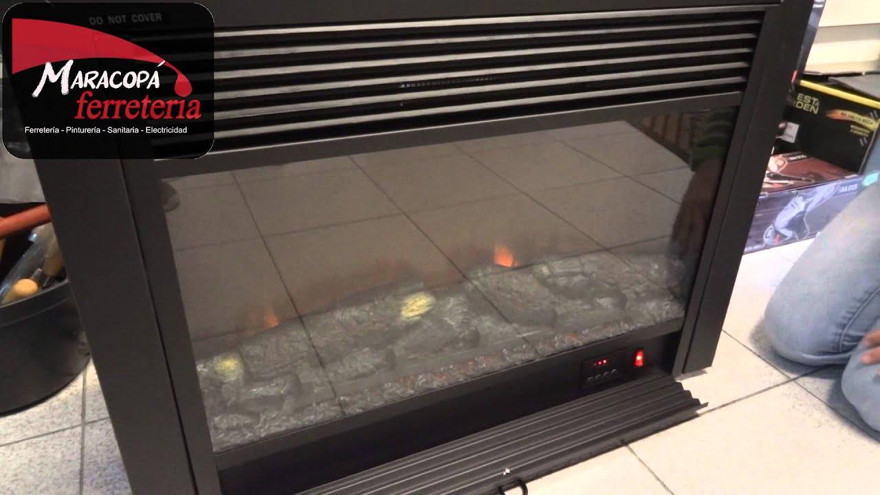 Estufa el ctrica simil le a y fuego de empotrar con for Estufas para empotrar