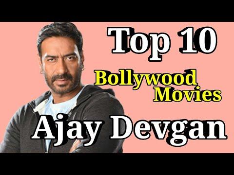 AJAY DEVGAN Bollywood Actor | Top 10 Movies List | Ranking Wise Films