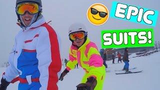COOLEST SNOWBOARDING SUITS!