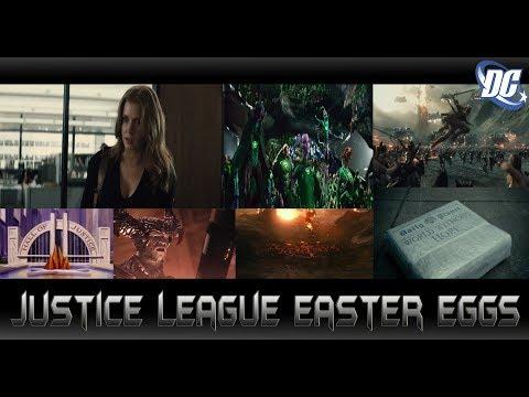 เปิดเผย Easter Eggs และเกร็ดน่ารู้จาก Justice League แบบไม่มีกั้ก - Comic World Daily