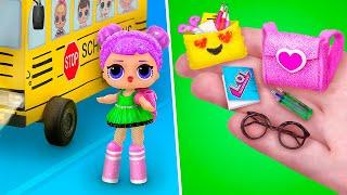 12 DIY LOL Surprise School Supplies And Crafts screenshot 3