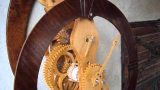 Wooden Clock From Bulgaria