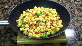 Toddler Meal Idea: Ham And Pea Macaroni & Cheese