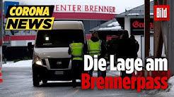 Zur Lage am Brennerpass an der österreichisch-italienischen Grenze