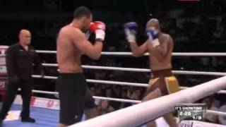 Badr Hari  Vs Tony Gregory  -2011 fight @ lyon