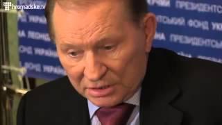 Кучма прет на Тимошенко