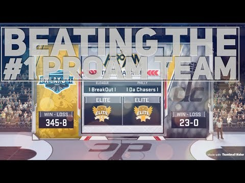 NBA2k18: ProAm Comp Game - Beating The #1 Team (DatBoyDimez)
