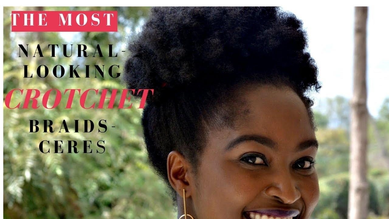 Natural Looking Crochet Braids Ceres Sistar Crochet Braid