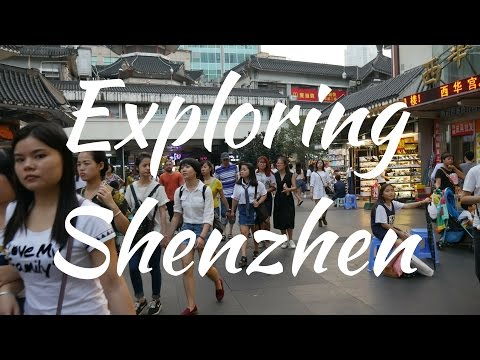 EXPLORING SHENZHEN IN ONE DAY | SHENZEN VLOG