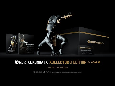 Mortal Kombat X: Making The Kollector's Edition by Coarse