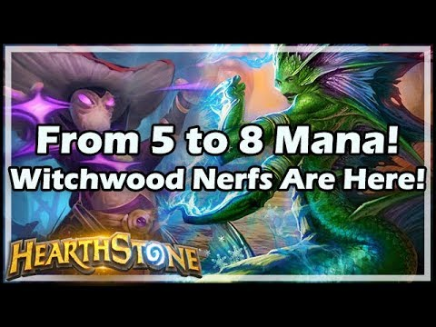 [Hearthstone] From 5 to 8 Mana! Witchwood Nerfs Are Here!