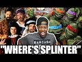 [ REACTION ] Artists vs TMNT Epic Rap Battles of History & Artists vs Turtles. ERB Behind the Scenes