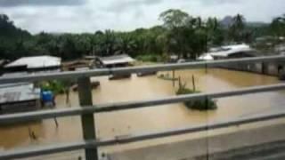 sabah Kinabatangan river flood_1