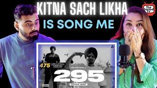 295 (Official Audio) | Sidhu Moose Wala | The Kidd | Moosetape | Delhi Couple Reactions