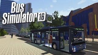 Bus Simulator 16 Gameplay - Bus Driving is HARD! (Bus Simulator 2016)