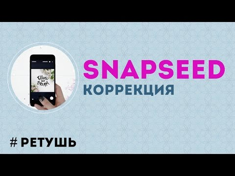 Обработка фотографий в программе Snapseed