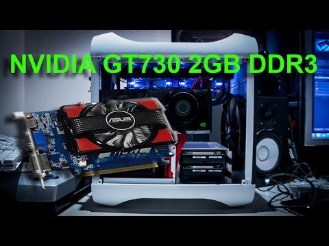 REVIEW VGA NVIDIA GT730 2GB DDR3 - TES VGA Harga 1 Jutaan main GTA 5 Grafik Very High