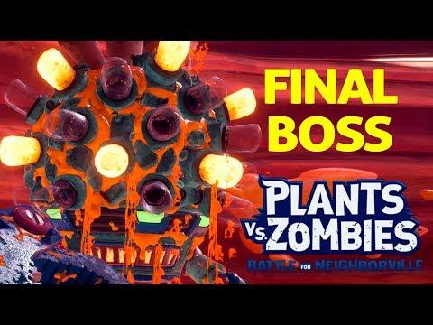 FINAL BOSS: Major Problem in Mount Steep   Plants vs Zombies Battle for Neighborville