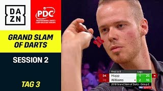 Drama-Duelle von Max Hopp und Martin Schindler | Grand Slam of Darts | Highlights | DAZN