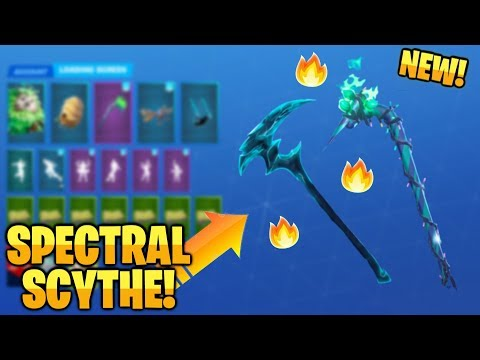 *NEW* All Leaked Fortnite Pickaxes..! *HALLOWEEN* (Witchia, Merry Mint, Spectral Scythe...)