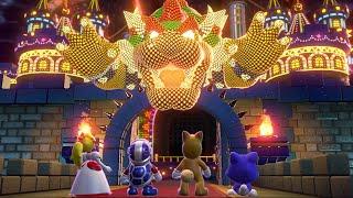 Super Mario 3D World - Final Castle (4 Players)