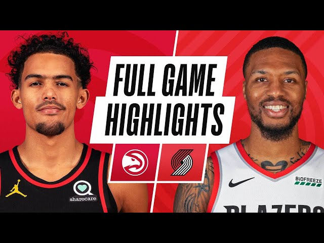 HAWKS at TRAIL BLAZERS | FULL GAME HIGHLIGHTS | January 16, 2021